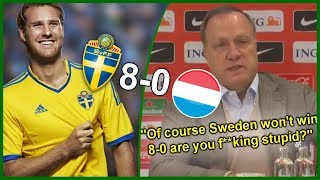 Sverige vs Luxemburg 8-0 | Lord Ola Toivonen Gör ÅRETS MÅL!