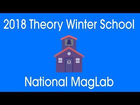 MagLab Theory Winter School 2018: David Huse Thermalization & Entanglement Dynamics