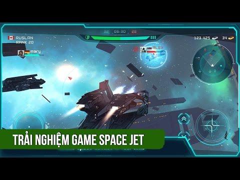 Trải nghiệm game bắn súng PvP Space Jet