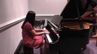 Capriccio in G minor, HWV 483 by George Frideric Handel - Claire Wang
