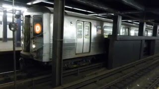 FASTRACK IND 6th Ave Line: R68 & R68A D Trains at 2nd Ave-Houston St