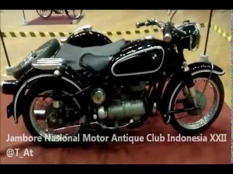 Motor Antique Club Indonesia - JAMNAS XXII  GOR Tridarma Gresik 2015