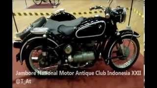 Motor Antique Club Indonesia - JAMNAS XXII  GOR Tridarma Gresik 2015