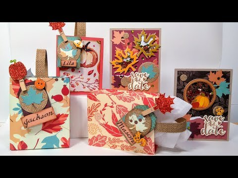 Thanksgiving/Friendsgiving Cards and Favors // NEW Love Nicole Product Focus