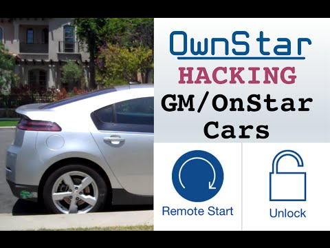 OwnStar - hacking cars with OnStar to locate, unlock and remote start vehicles