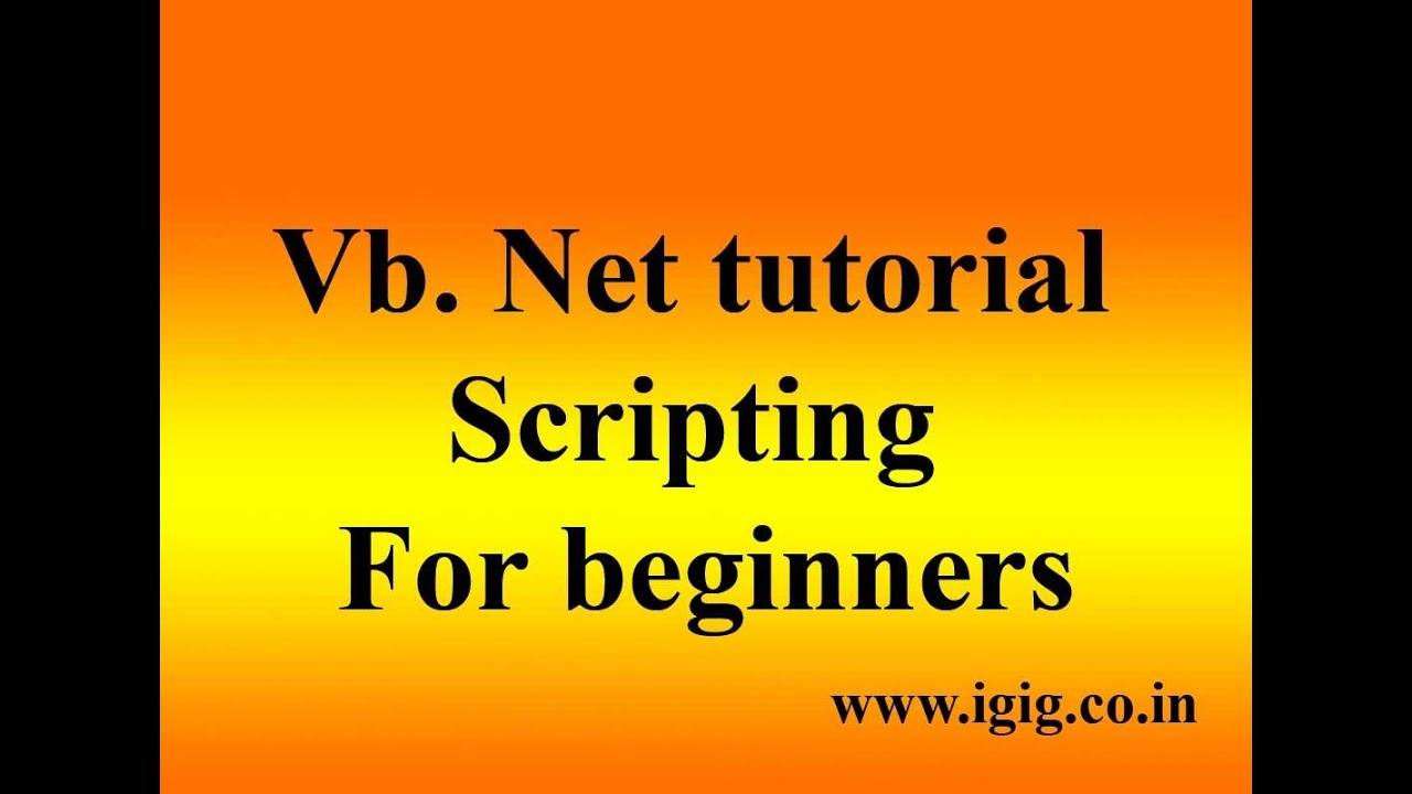 Vb.net Tutorial Pdf In Hindi