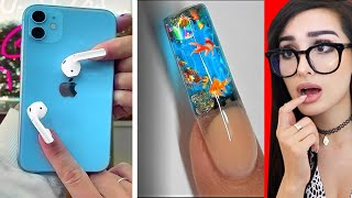 Weirdest NAIL ART that should NOT Exist