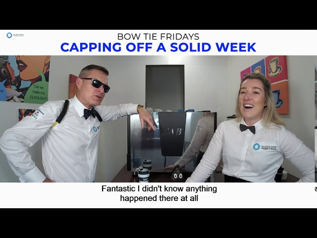 BOW TIE FRIDAYS S5E5 - Capping Off A Solid Week