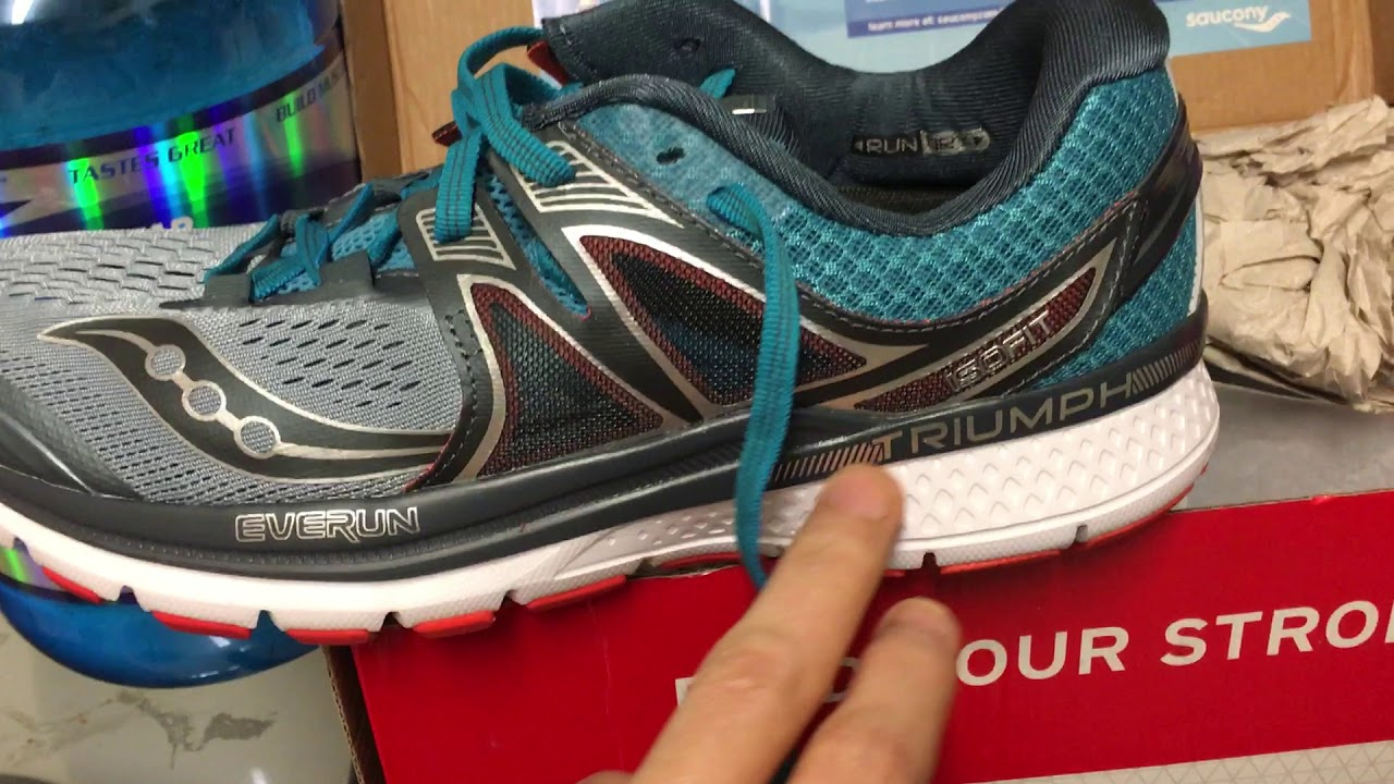 22202b1550b Saucony Triumph ISO 3 - Is Everun as good as Ultra Boost  - YouTube
