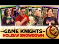Holiday snowdown l game knights 41 l magic the gathering gameplay edh