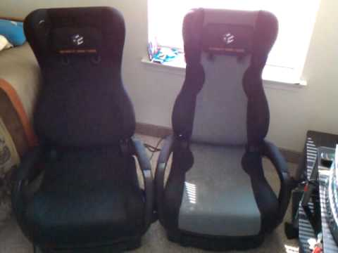 ultimate game chair renegade sale youtube. Black Bedroom Furniture Sets. Home Design Ideas