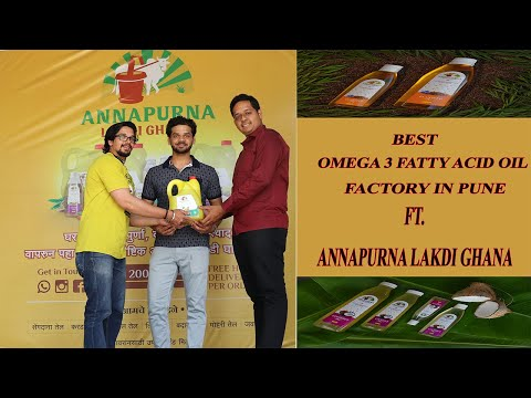 BEST ORGANIC OIL FACTORY IN PUNE | Ft. ANNAPURNA LAKDI GHANA
