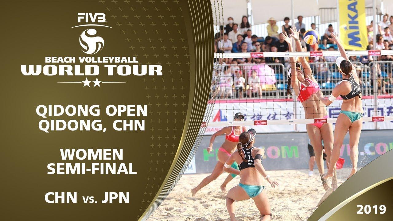 Women's Semi-Final: CHN vs. JPN | 2* Qidong (CHN) - 2019 FIVB Beach Volleyball World Tour