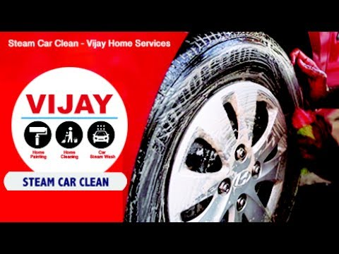 Steam Car Cleaning Service - Vijay Home Services