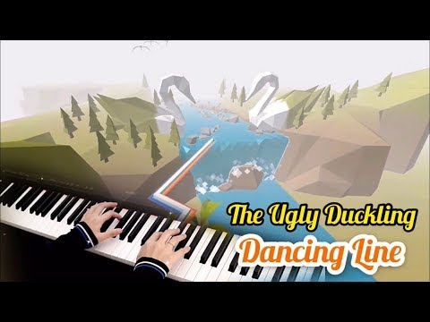 The Ugly Duckling - Dancing Line - Piano Cover