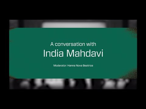 A Conversation with India Mahdavi