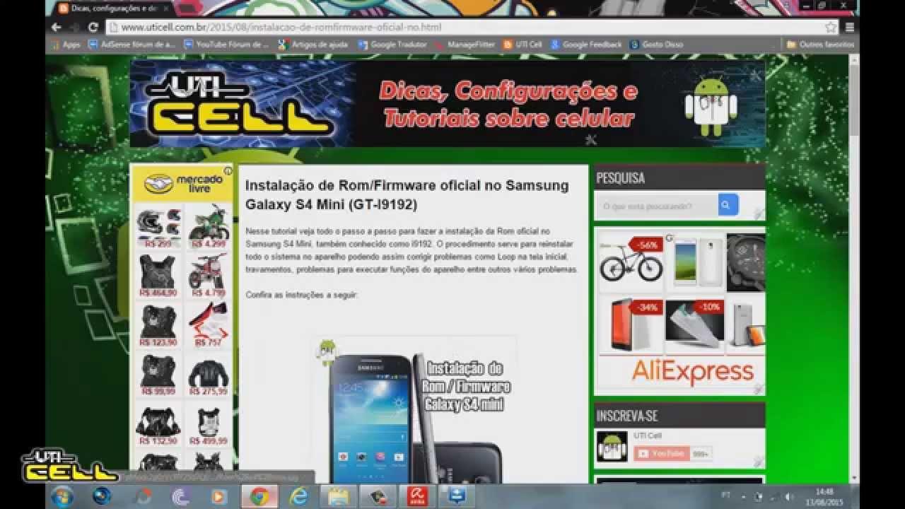 firmware galaxy s4 mini oficial samsung