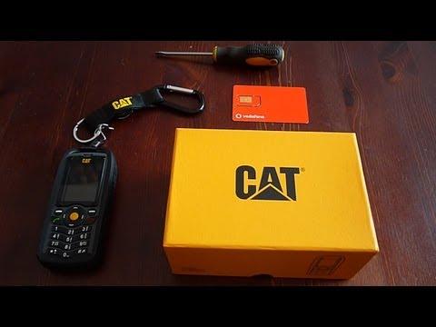 CAT B25 unboxing & Hands-on HD / Kicsomagolás és első benyomás.