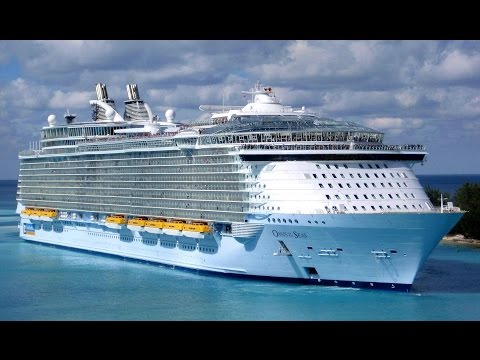 Oasis Of The Seas Royal Caribbean Departs Port Everglades