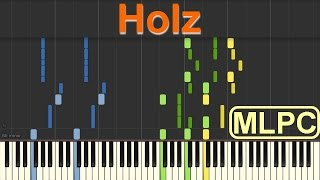 257ers - Holz I Piano Tutorial by MLPC