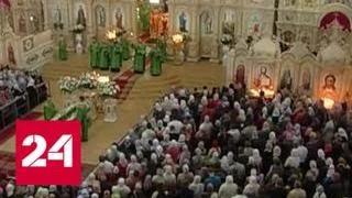 УПЦ запретят служить в Киево-Печерской лавре - Россия 24