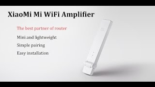 xiaomi mi wifi amplifier repeater extender unboxing review