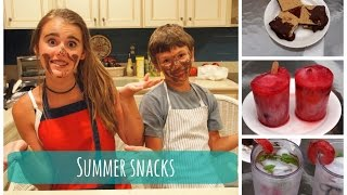 Summer Snacks || MissMer Thumbnail