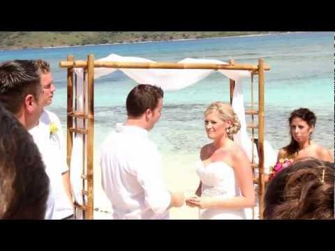Steph & Colin's Lindquist Beach, St Thomas & Carnival Liberty Wedding