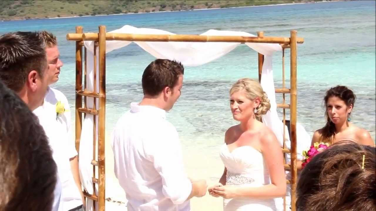 Steph Colin S Lindquist Beach St Thomas Carnival Liberty Wedding You