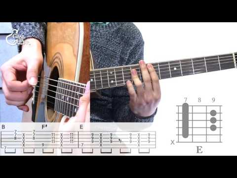 [그랩더기타] The Lazy Song - Bruno Mars (브루노 마스) [Guitar Tutorial/통기타 강좌]