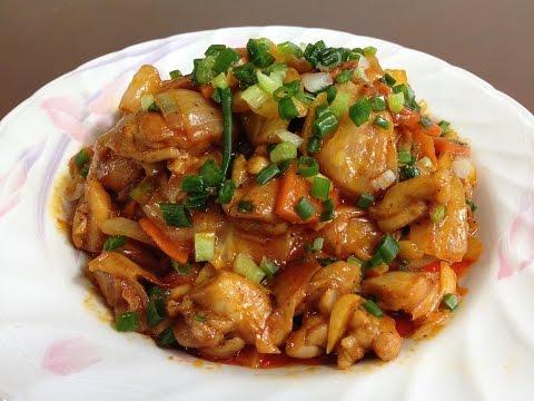 #254-2 stir fried chicken with cabbage - 양배추 닭볶음