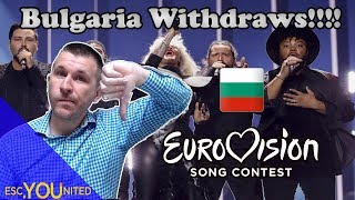Bulgaria withdraws from Eurovision 2019. Sign the Petition!