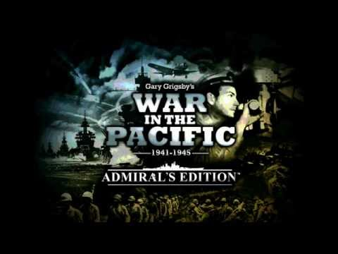 War in the Pacific: Admiral's Edition Grand Campaign - Setup