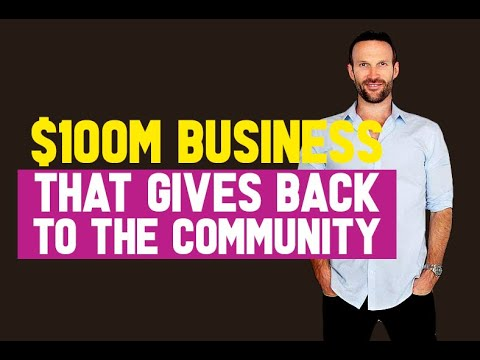 How To Make A Million Dollar+ Business That Benefits Your Community - Cole Hatter