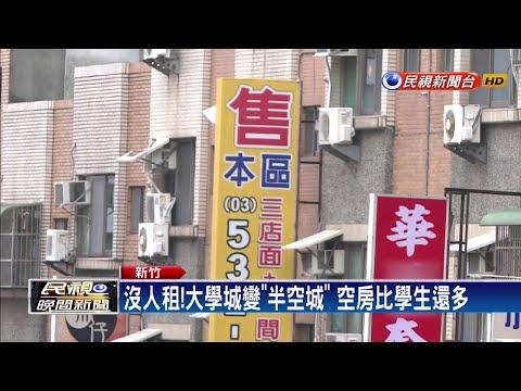 沒人租!少子化衝擊 大學學區「房東失業潮」-民視新聞