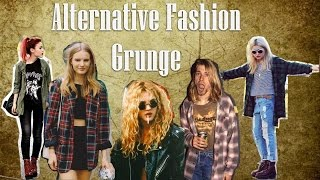 GRUNGE: O QUE É? COMO SURGIU? COMO USAR? | ALTERNATIVE FASHION