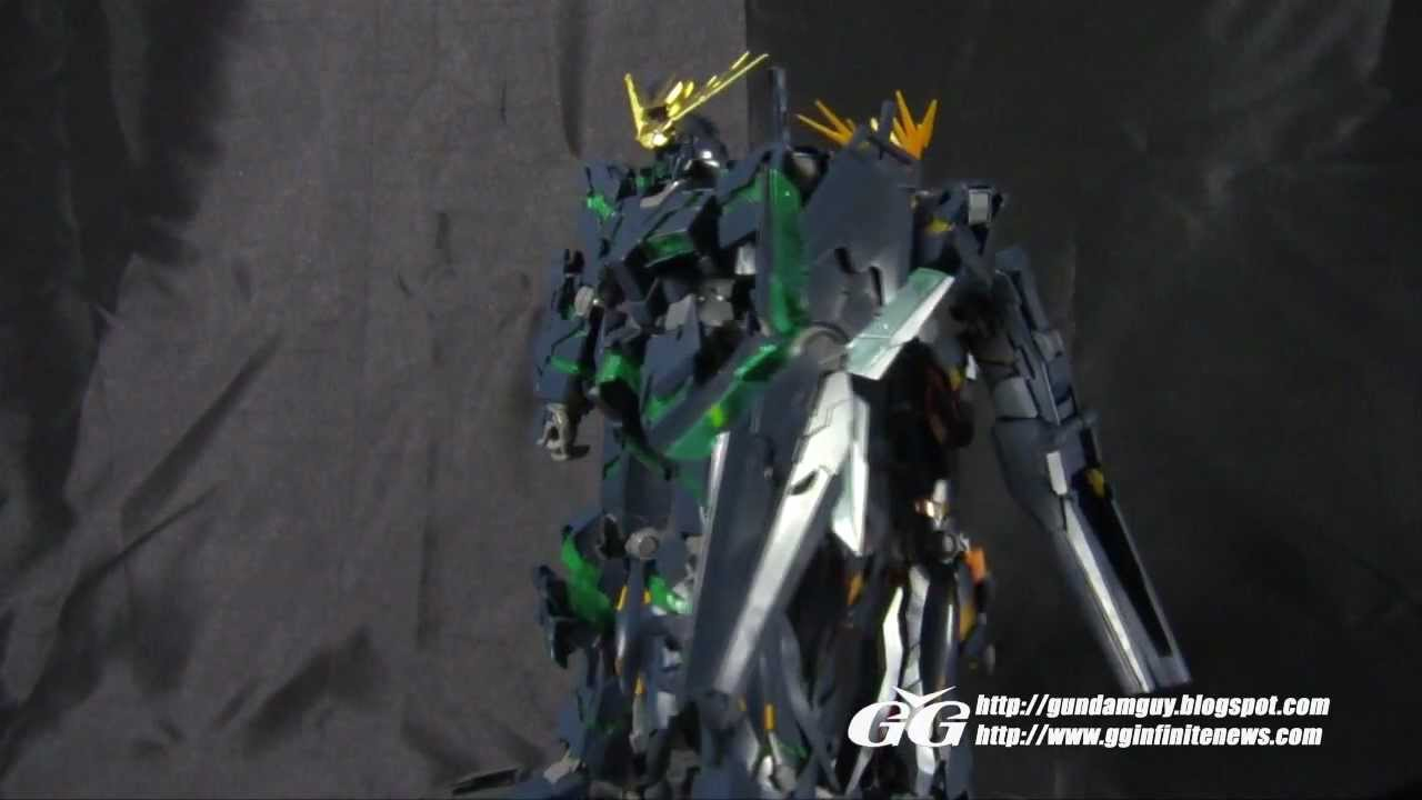 Mg Rx 0 Unicorn Gundam 02 Banshee Ver Ka Review Youtube