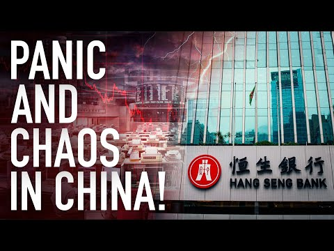 Chaos And Panic At Chinese Stocks As Markets Finally Freak Out About Evergrande Default Contagion