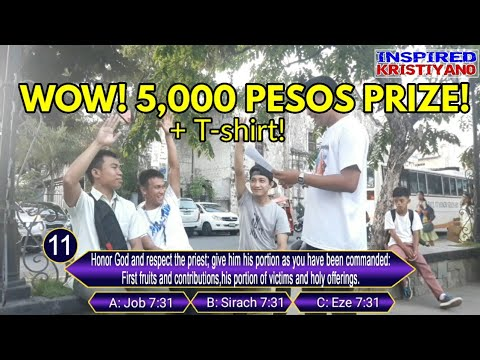 BIBLE Challenge Battle - P5,000 PESOS! Donald (Youth) Vs Teddy (MCC) Vs Lawrence (SJC) | Vlog #11