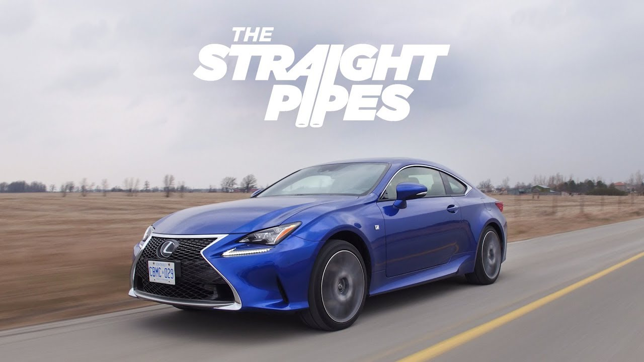 2018 Lexus Rc350 F Sport Review Amazing Looks Decent Performance