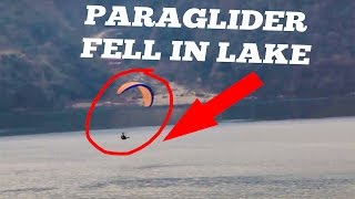 Paragliding accident (raw footage) at Pokhara, many fell in Fewa Lake