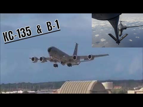 B1 & KC-135 FLYING MISSIONS