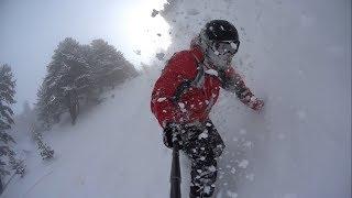 snowboarding 05: freeriding Bansko