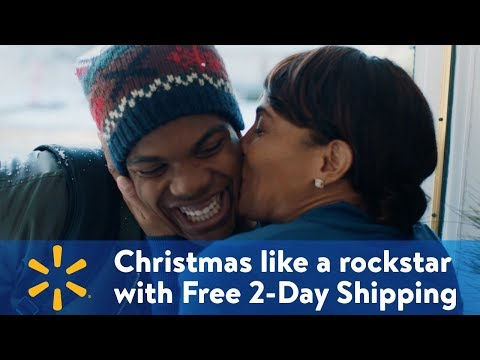 Christmas Like a Rockstar with Free 2-Day Shipping