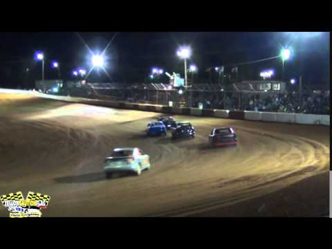 MISSISSIPPI STREET STOCKS INVADE FLOMATON SPEEDWAY FOR THIS INAUGURAL EVENT 4/19/14 PART 3