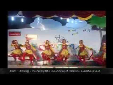2014 State School  Kalolsavam Sandhra &Team : Group Dance Travel Video