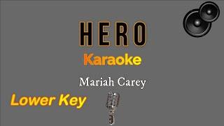 Hero - mariah carey (karaoke version ...