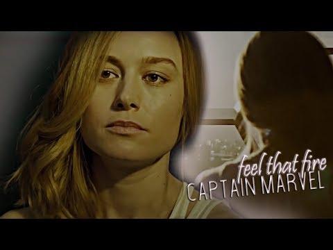 Carol Danvers (Captain Marvel) || Feel That Fire