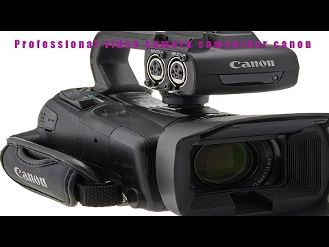 ☕❤the ten best Professional video camera camcorder canon review