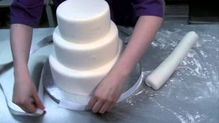 Как делаются свадебные торты. Интересное видео для тех, кто готовится к свадьбе.